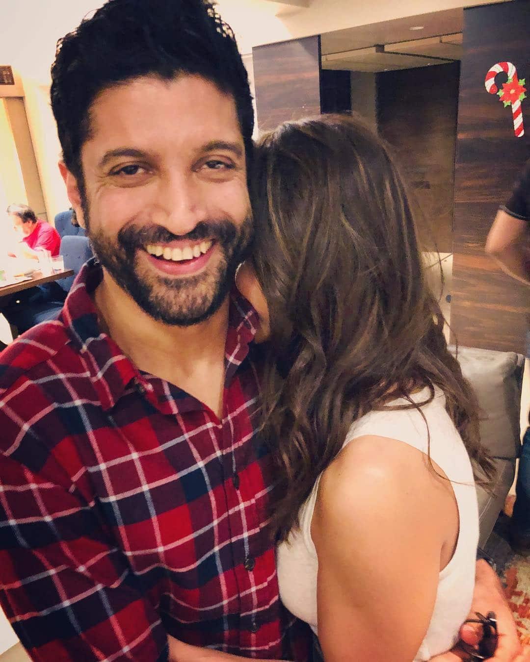 Farhan Akhtar with Girlfriend Photo