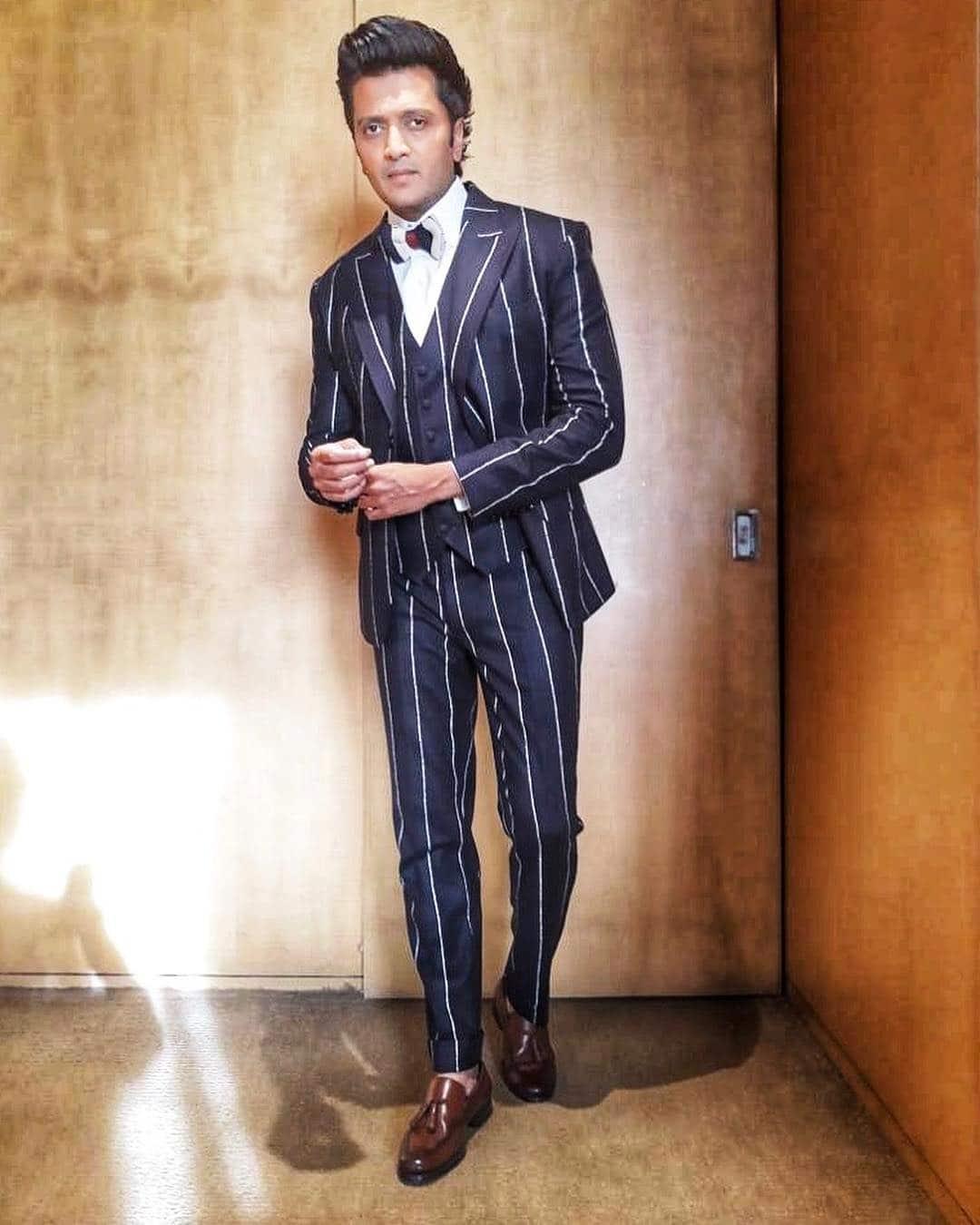 riteish deshmukh suit up photoshoot