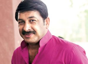 """I felt honoured to host Shah Rukh Khan in Varanasi"" Manoj Tiwari 300x218"