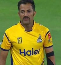Wahab Riaz Cricketer (Fast Bowler)