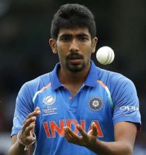 Jasprit Bumrah Cricketer (Fast-medium bowler)