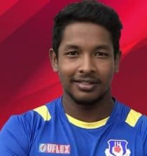 Akshdeep Nath Cricketer (Right-hand batsman)