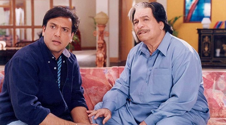 Govinda With Kader Khan