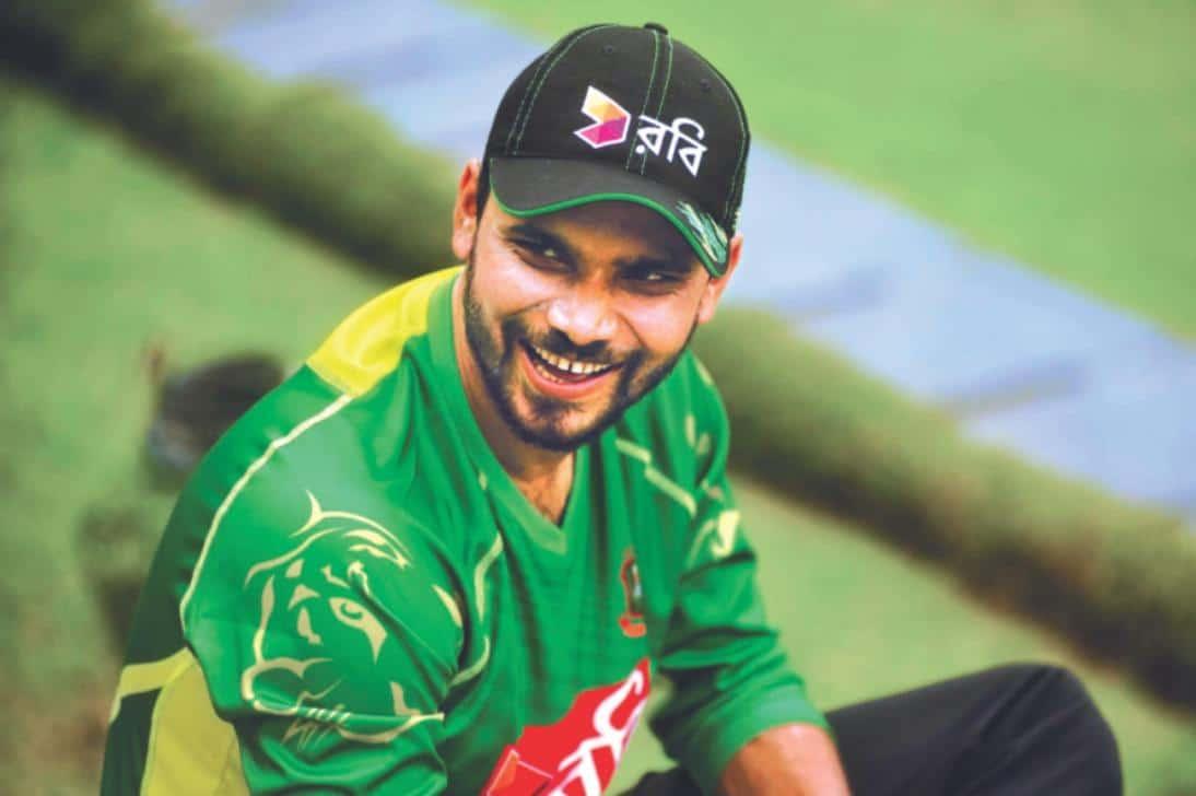 Mashrafe Mortaza Bangladeshi Cricketer (Medium Fast Bowler)