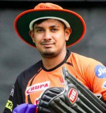 Ricky Bhui Cricketer (Right handed batsman)