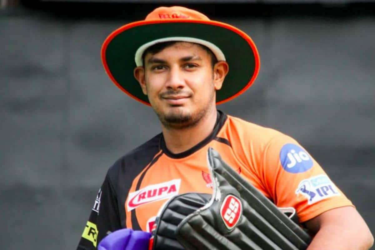 Ricky Bhui Indian Cricketer (Right handed batsman)