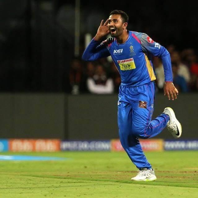 Shreyas Gopal Indian Cricketer