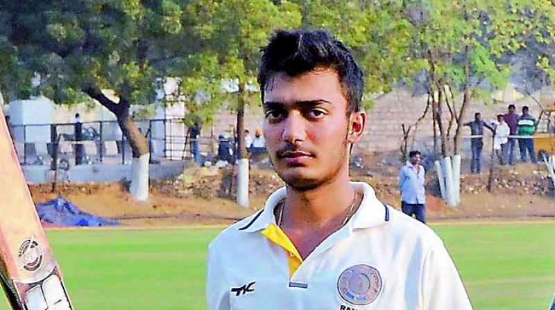 Tanmay Agarwal Indian Cricketer (Left-handed batsman)