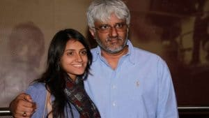 Vikram Bhatt with his daughter 300x169