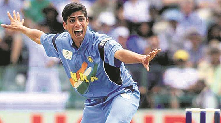 Ashish Diwan Singh Nehra Indian Cricketer (Fast-medium bowler)