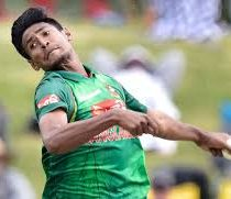 Mustafizur Rahman Cricketer (Medium Fast Bowler)