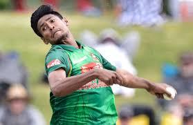 Mustafizur Rahman Bangladeshi Cricketer (Medium Fast Bowler)