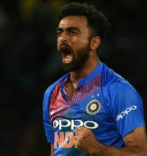 Jaydev Dipakbhai Unadkat Cricketer (Bowler)