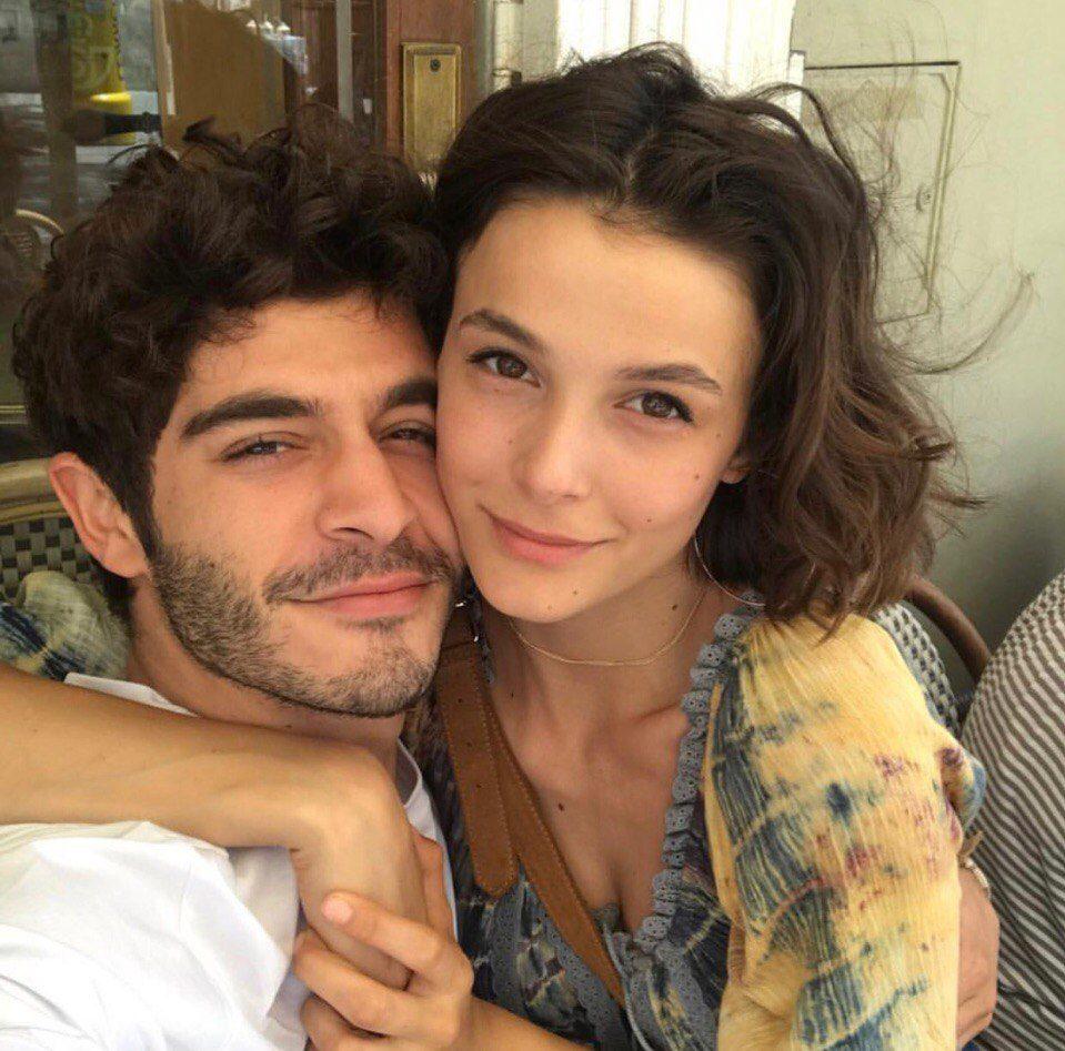 burak deniz with girlfriend