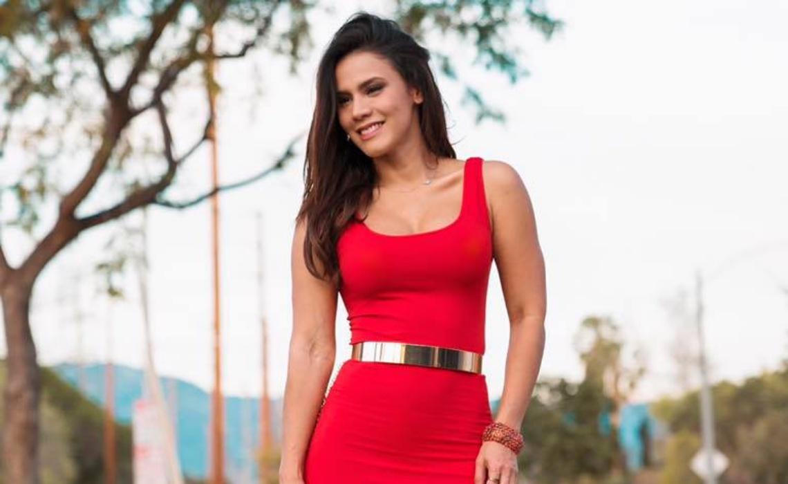 Andrea Espada Colombian Actress and Host
