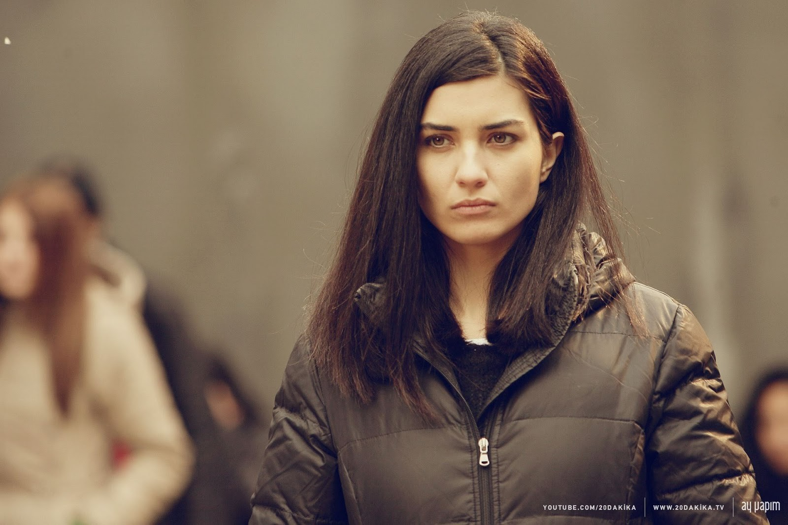 Tuba Buyukustun Turkish Actress in Turkish TV serials