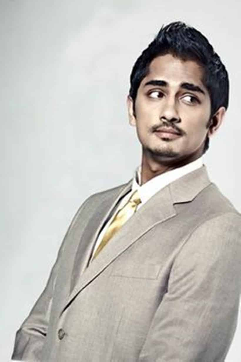 Siddharth Indian Actor, Producer, Playback Singer