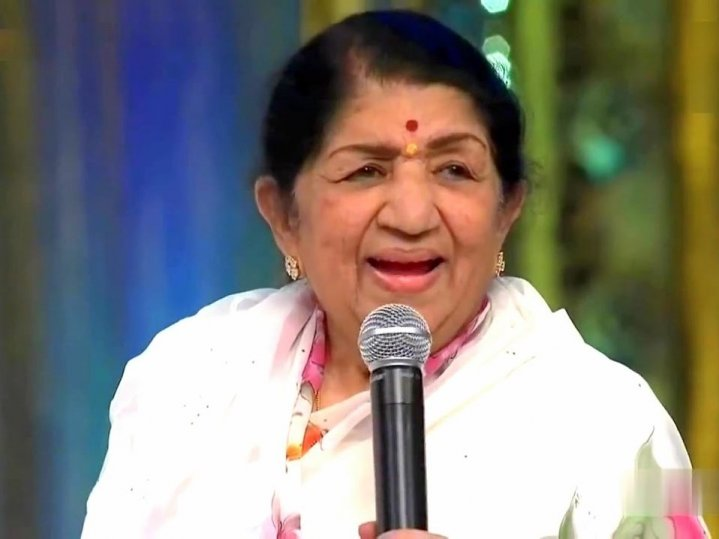 Lata Mangeshkar Indian Indian playback singer