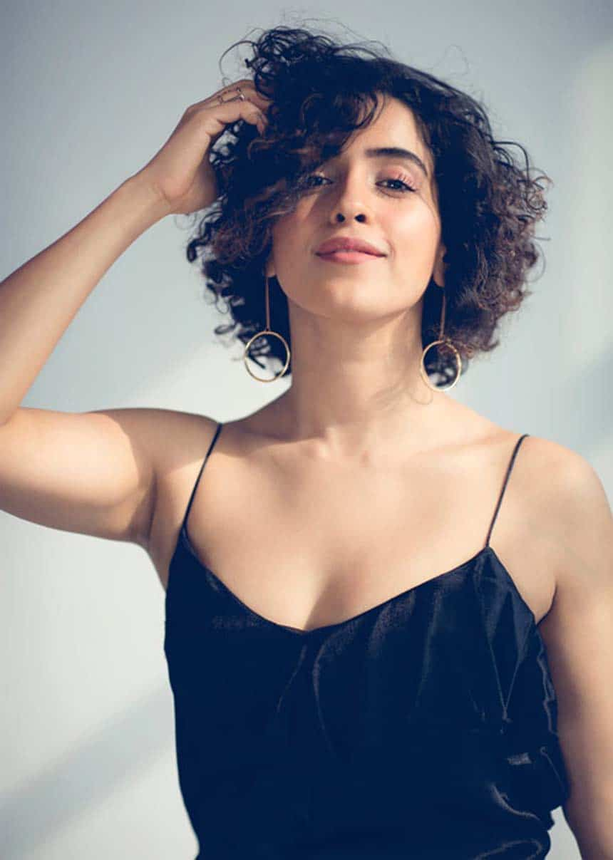 Sanya Malhotra Indian Actress