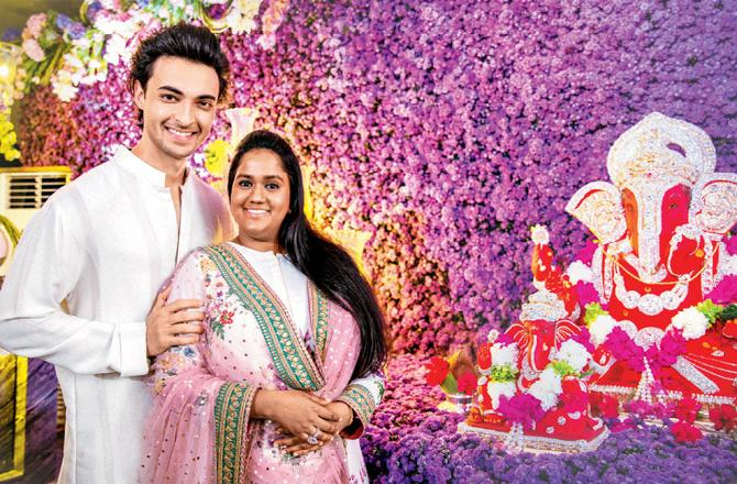 Arpita Khan Bio, Age, Height, Weight, Boyfriend, Husband, Facts - Arpita Khan ganesh chaturthi