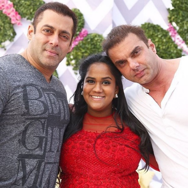 Arpita Khan Bio, Age, Height, Weight, Boyfriend, Husband, Facts - Arpita Khan with salman khan and arbaz khan