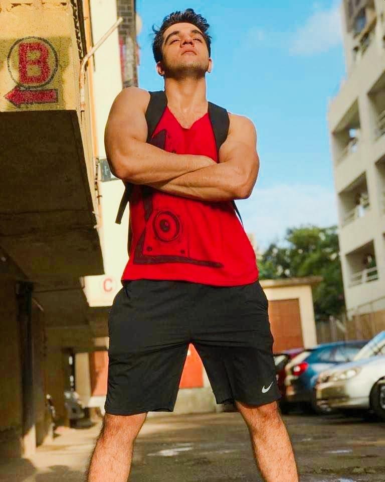 Ashwini Koul workout