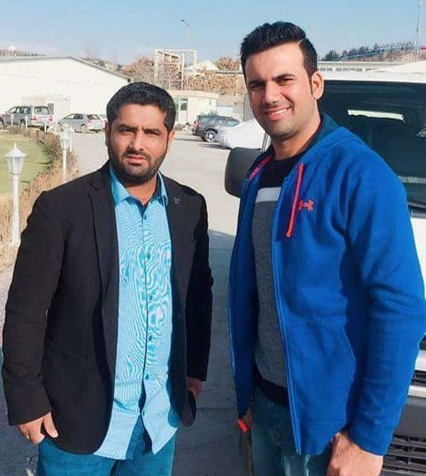 Mohammad Shahzad Afghani Cricketer