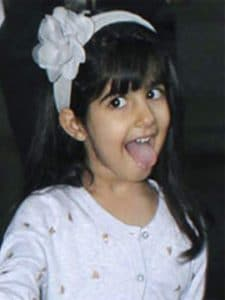Nitara Kumar Indian Celebrity Child