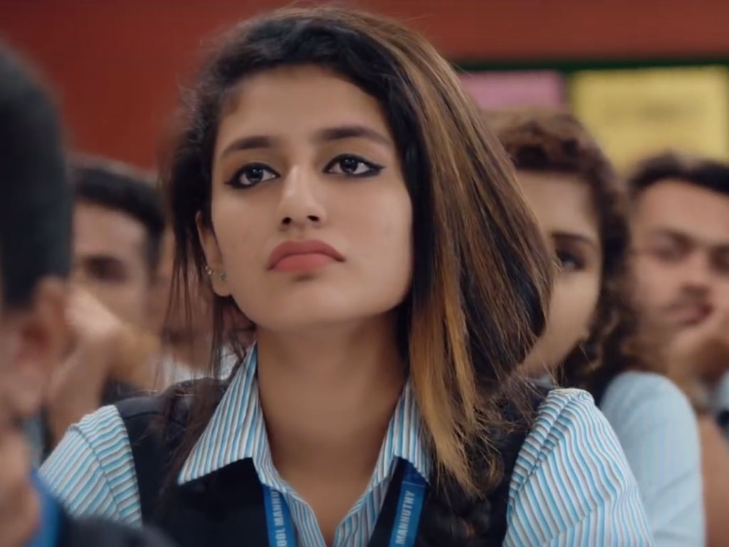 Priya Prakash Varrier Indian Actress