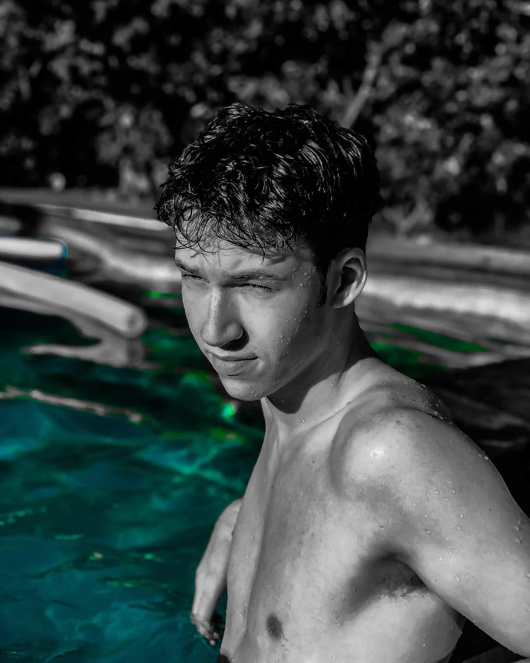 devin druid in pool