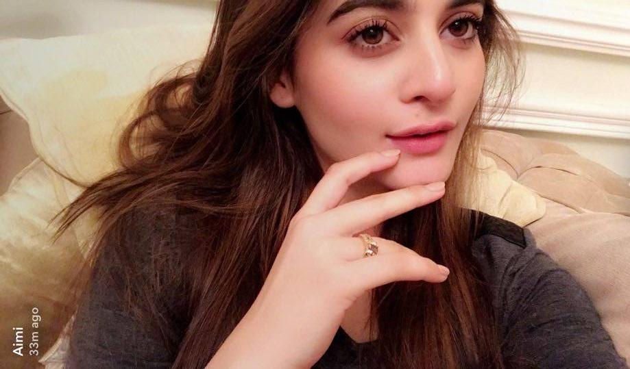 pakistan showbiz lollywood super star aiman khan latest snapchat photoshot 2