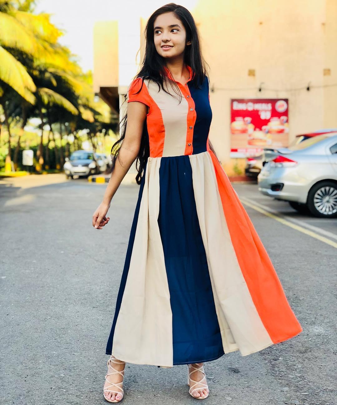 Anushka Sen Indian Actress, Social Media Star