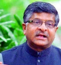 Ravi Shankar Prasad  Politician, Lawyer