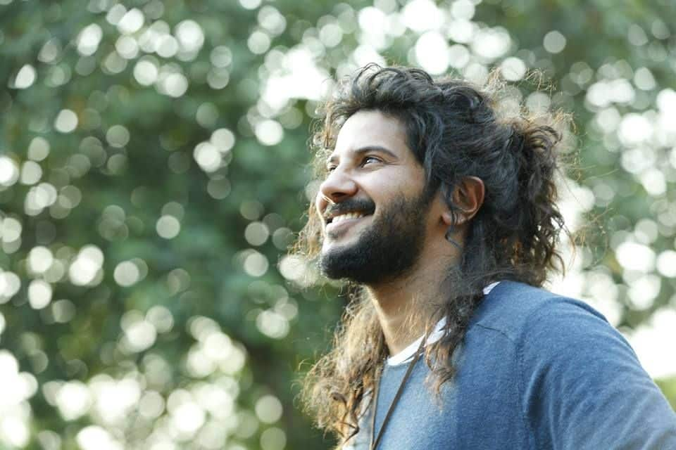 Long Hair Style Pics Of Dulquer Salmaan