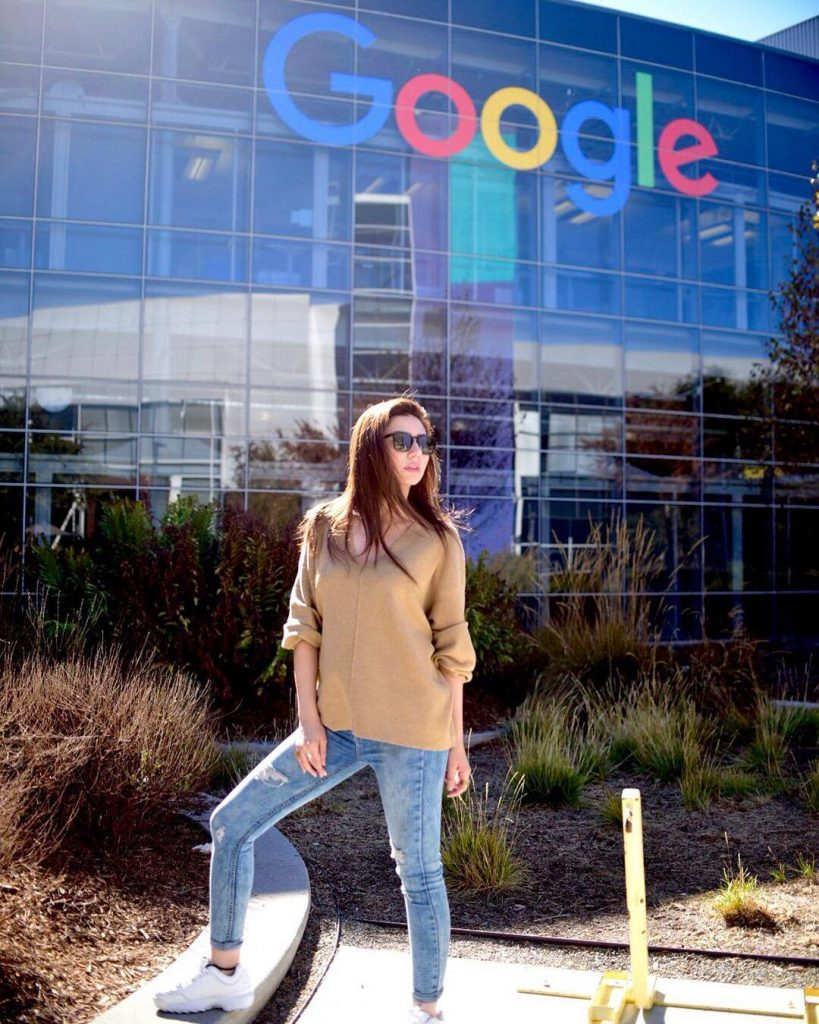 Mahira Khan at Google Headquaters 819x1024