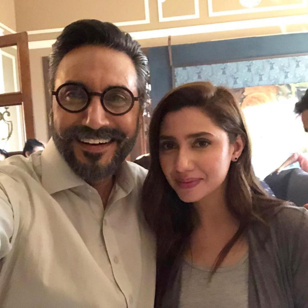 Mahira Khan with Adnan Siddique 1024x1024
