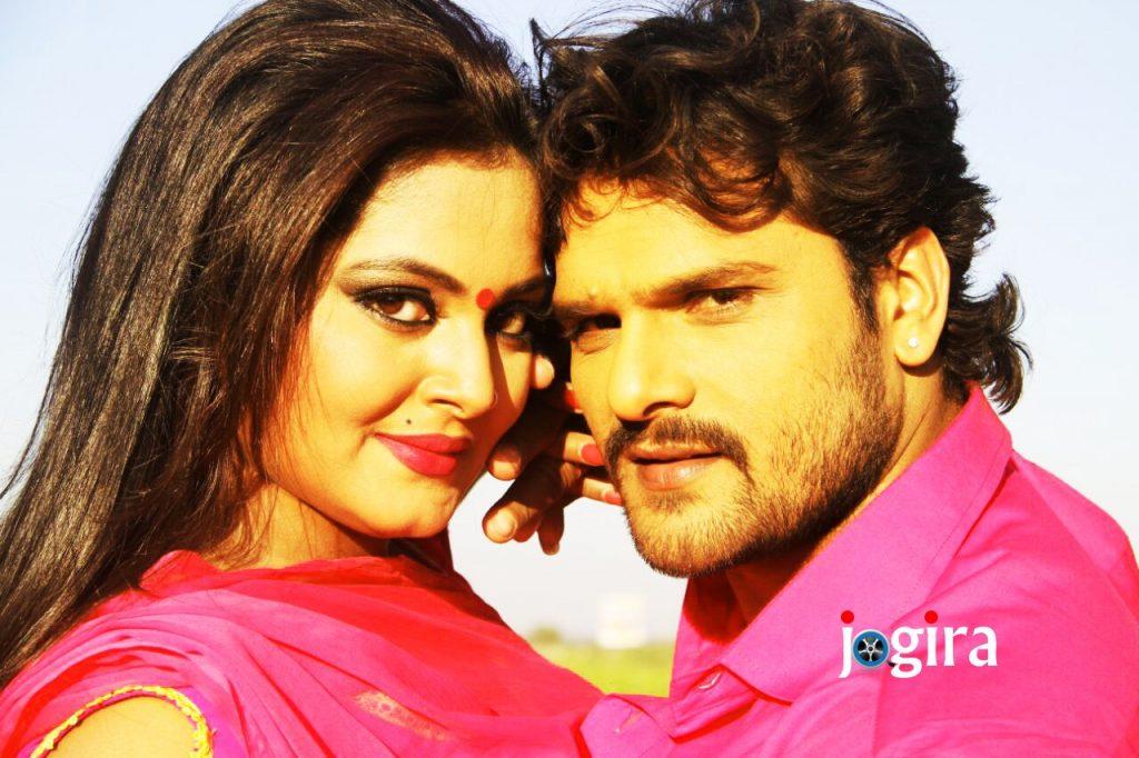 khesari lal yadav and anjana singh 1024x682