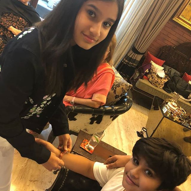 Rasha Thadani Indian Celebrity Child