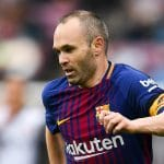 Andres Iniesta Spain Soccer Player