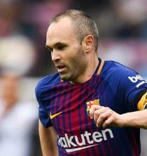 Andres Iniesta Soccer Player