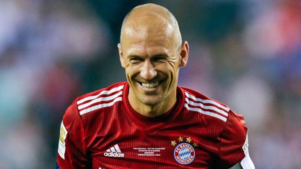 Arjen Robben Dutch Sports Persons (Football Player)