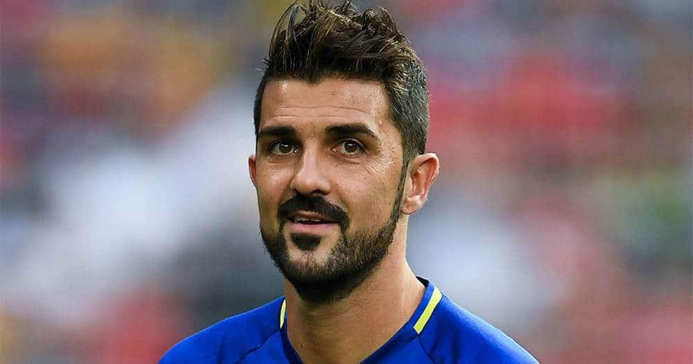 David Villa Spanish  Sports Persons (Football Player)