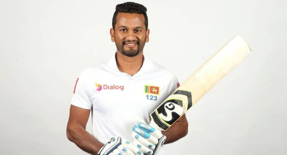 Dimuth Karunaratne Sri Lanka Cricket Player