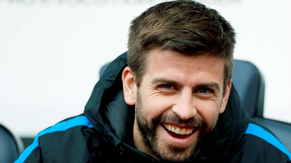 Gerard Pique Spanish Soccer Player