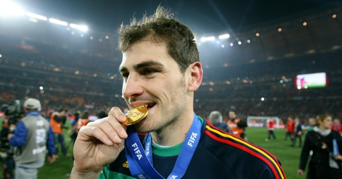 Casillas  Spanish Soccer Player
