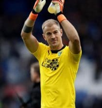 Joe Hart Sports Persons (Football Player)