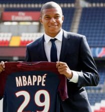 Mbappe Football Player