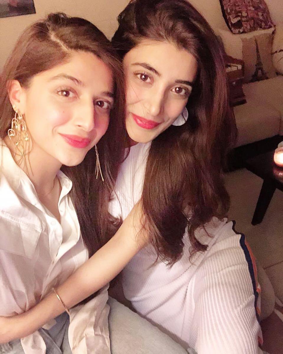 Mawra Hocane with sister Urwa Hocane