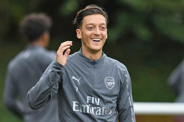Ozil Germany 	Soccer Football player