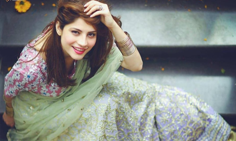 Neelum Muneer sister married dress